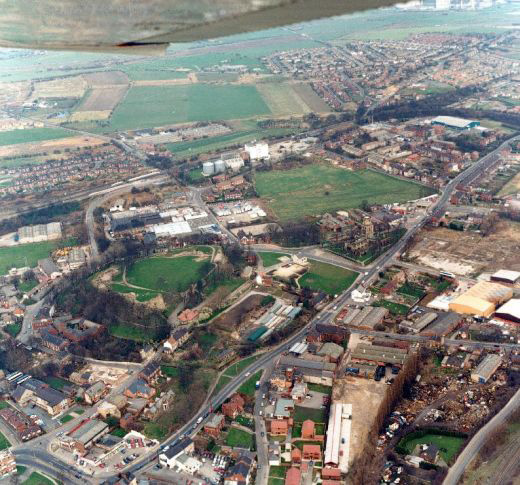 Aerial photograph looking north east [Click here to open image in popup]
