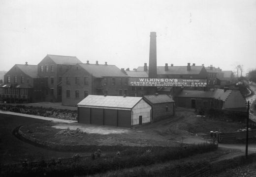 W. R. Wilkinson & Co Ltd factory, Pontefract. [Click here to open image in popup]